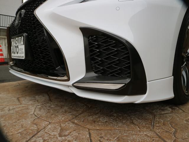 LS500 Fスポーツ 4WD TRDエアロ マフラー マークレビンソン デジタルインナーミラー ドライブレコーダー サンルーフ(13枚目)