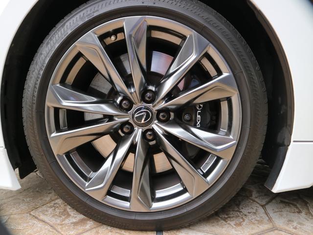 LS500 Fスポーツ 4WD TRDエアロ マフラー マークレビンソン デジタルインナーミラー ドライブレコーダー サンルーフ(35枚目)