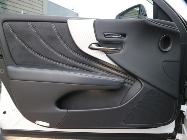 LS500 Fスポーツ 4WD TRDエアロ マフラー マークレビンソン デジタルインナーミラー ドライブレコーダー サンルーフ(50枚目)