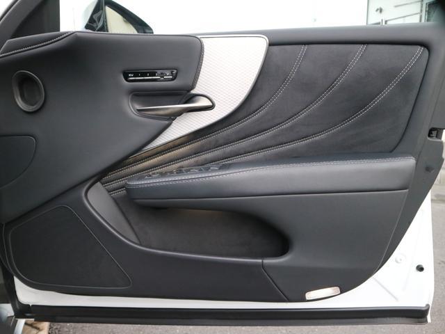 LS500 Fスポーツ 4WD TRDエアロ マフラー マークレビンソン デジタルインナーミラー ドライブレコーダー サンルーフ(51枚目)