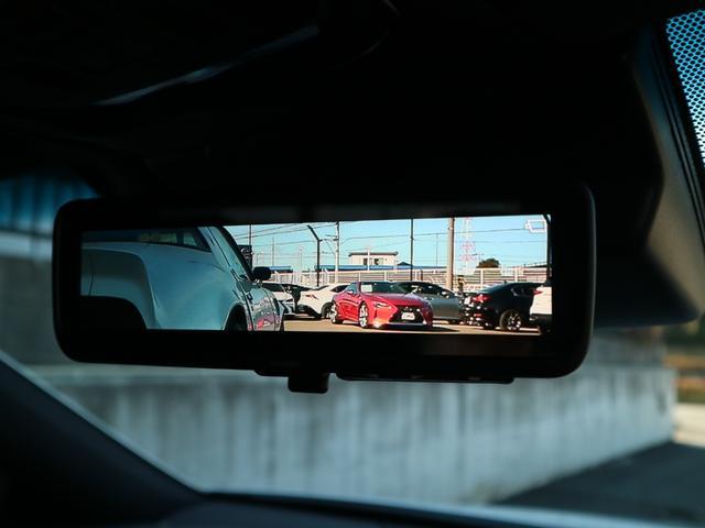 LS500h Fスポーツ 4WD サンルーフ マークレビンソン デジタルインナーミラー 寒冷地仕様 Egスタータープレミアム TVキット ドライブレコーダー(9枚目)