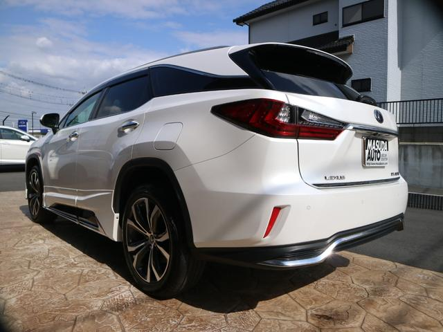 RX450hL 4WD 1オーナー モデリスタエアロ リヤエンター 三眼LEDヘッドライト アダプティブハイビームシステム サンルーフ HUD ステアリングヒーター パノラミックビューモニター(5枚目)