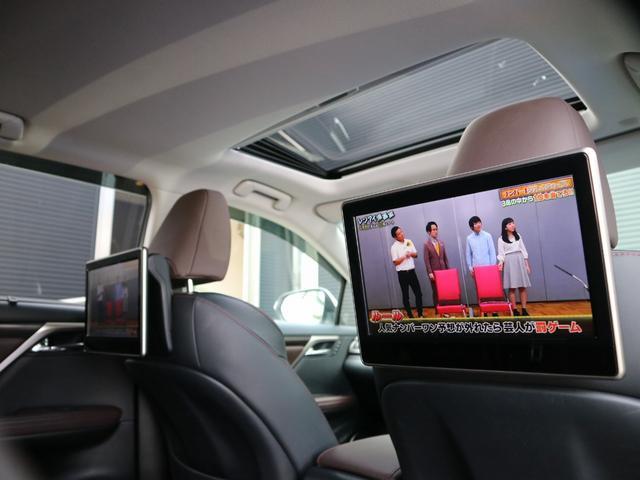 RX450hL 4WD 1オーナー モデリスタエアロ リヤエンター 三眼LEDヘッドライト アダプティブハイビームシステム サンルーフ HUD ステアリングヒーター パノラミックビューモニター(18枚目)