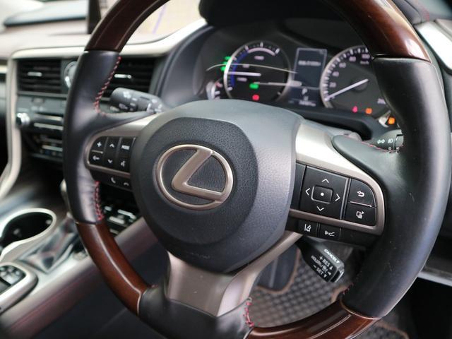 RX450hL 4WD 1オーナー モデリスタエアロ リヤエンター 三眼LEDヘッドライト アダプティブハイビームシステム サンルーフ HUD ステアリングヒーター パノラミックビューモニター(22枚目)