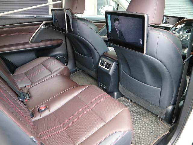 RX450hL 4WD 1オーナー モデリスタエアロ リヤエンター 三眼LEDヘッドライト アダプティブハイビームシステム サンルーフ HUD ステアリングヒーター パノラミックビューモニター(44枚目)
