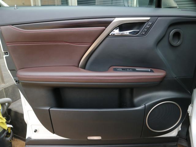 RX450hL 4WD 1オーナー モデリスタエアロ リヤエンター 三眼LEDヘッドライト アダプティブハイビームシステム サンルーフ HUD ステアリングヒーター パノラミックビューモニター(56枚目)