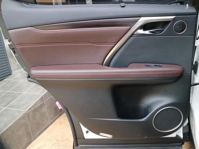 RX450hL 4WD 1オーナー モデリスタエアロ リヤエンター 三眼LEDヘッドライト アダプティブハイビームシステム サンルーフ HUD ステアリングヒーター パノラミックビューモニター(58枚目)
