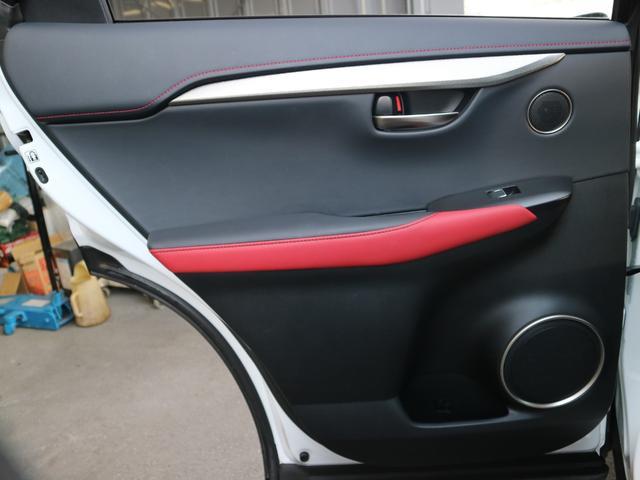 NX300 Fスポーツ 三眼LEDヘッドライト パノラミックビューモニター サンルーフ AHS パワーバックドア PKSB ステアリングヒーター パドルシフト(42枚目)