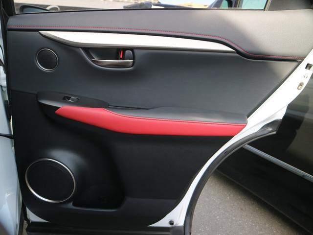 NX300 Fスポーツ 三眼LEDヘッドライト パノラミックビューモニター サンルーフ AHS パワーバックドア PKSB ステアリングヒーター パドルシフト(43枚目)