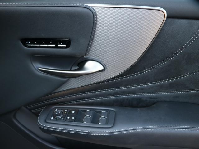LS500 Fスポーツ 4WD ワンオーナー モデリスタエアロキット デジタルインナーミラー 寒冷地仕様 前後ドライブレコーダー サンルーフ エアロスタビライジングフィン(32枚目)