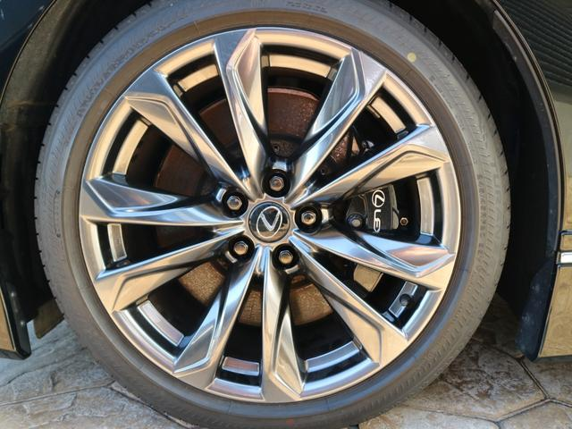 LS500 Fスポーツ 4WD ワンオーナー モデリスタエアロキット デジタルインナーミラー 寒冷地仕様 前後ドライブレコーダー サンルーフ エアロスタビライジングフィン(34枚目)