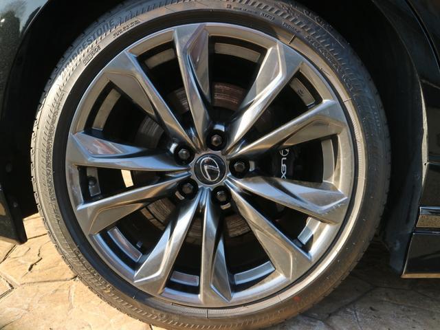 LS500 Fスポーツ 4WD ワンオーナー モデリスタエアロキット デジタルインナーミラー 寒冷地仕様 前後ドライブレコーダー サンルーフ エアロスタビライジングフィン(36枚目)