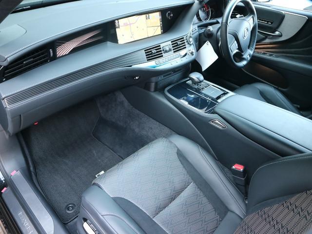 LS500 Fスポーツ 4WD ワンオーナー モデリスタエアロキット デジタルインナーミラー 寒冷地仕様 前後ドライブレコーダー サンルーフ エアロスタビライジングフィン(45枚目)