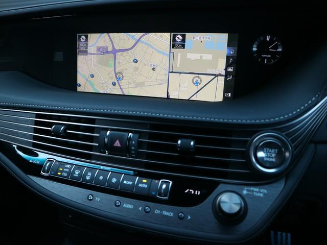 LS500 Fスポーツ 4WD ワンオーナー モデリスタエアロキット デジタルインナーミラー 寒冷地仕様 前後ドライブレコーダー サンルーフ エアロスタビライジングフィン(56枚目)