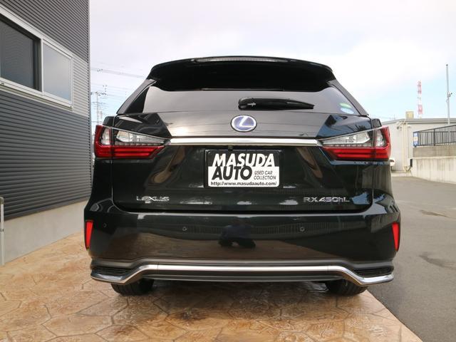 RX450hL 4WD リアエンターテインメント サンルーフ モデリスタフロントサイドエアロ ワンオーナー 三眼LEDヘッドライト パワーバックドア ステアリングヒーター(6枚目)