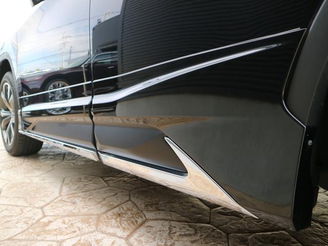 RX450hL 4WD リアエンターテインメント サンルーフ モデリスタフロントサイドエアロ ワンオーナー 三眼LEDヘッドライト パワーバックドア ステアリングヒーター(12枚目)