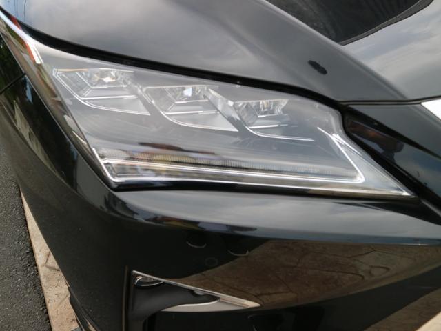 RX450hL 4WD リアエンターテインメント サンルーフ モデリスタフロントサイドエアロ ワンオーナー 三眼LEDヘッドライト パワーバックドア ステアリングヒーター(16枚目)
