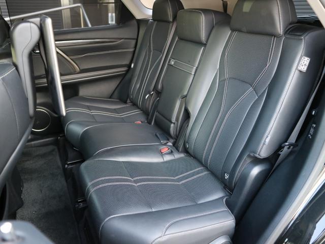 RX450hL 4WD リアエンターテインメント サンルーフ モデリスタフロントサイドエアロ ワンオーナー 三眼LEDヘッドライト パワーバックドア ステアリングヒーター(45枚目)