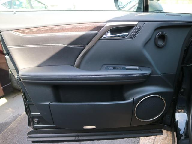 RX450hL 4WD リアエンターテインメント サンルーフ モデリスタフロントサイドエアロ ワンオーナー 三眼LEDヘッドライト パワーバックドア ステアリングヒーター(55枚目)