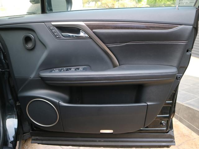 RX450hL 4WD リアエンターテインメント サンルーフ モデリスタフロントサイドエアロ ワンオーナー 三眼LEDヘッドライト パワーバックドア ステアリングヒーター(56枚目)