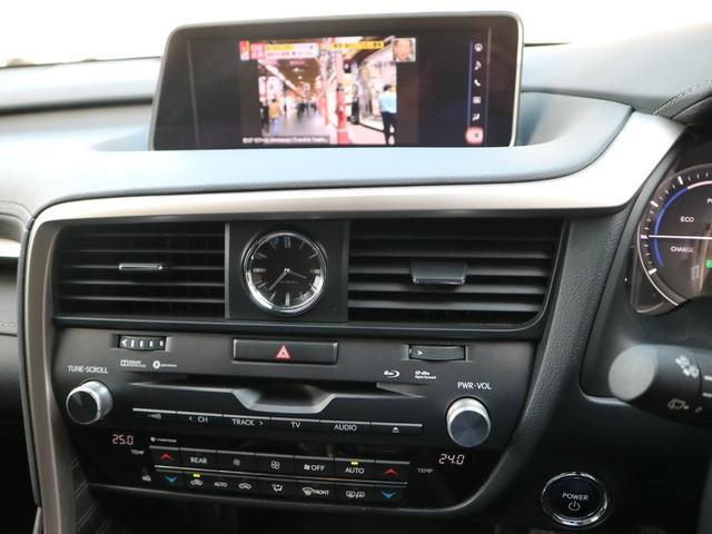 RX450hL 4WD リアエンターテインメント サンルーフ モデリスタフロントサイドエアロ ワンオーナー 三眼LEDヘッドライト パワーバックドア ステアリングヒーター(60枚目)