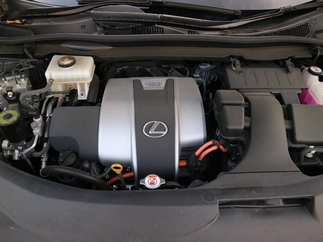 RX450hL 4WD リアエンターテインメント サンルーフ モデリスタフロントサイドエアロ ワンオーナー 三眼LEDヘッドライト パワーバックドア ステアリングヒーター(75枚目)