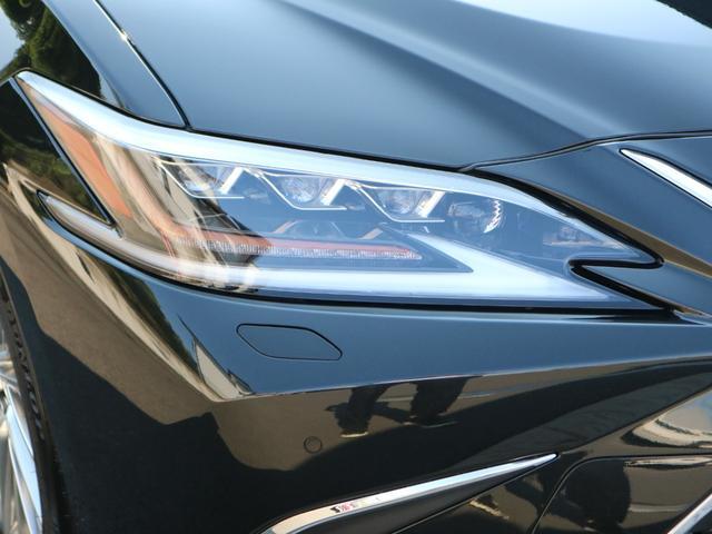 ES300h バージョンL 前後ドライブレコーダー パワートランク パノラミックビューモニター サンルーフ 三眼LEDヘッドライト AHS ヘッドアップディスプレイ 後席パワーシート 後席シートヒーター ステアリングヒーター(21枚目)