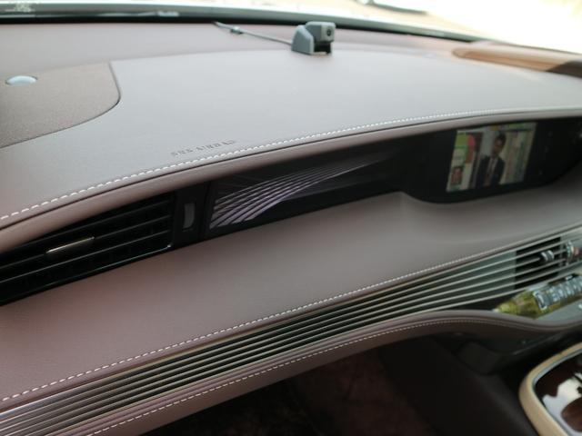 LS500 バージョンL サンルーフ マークレビンソン デジタルインナーミラー 前後ドライブレコーダー HUD パノラミックビューモニター 三眼LEDヘッドライト AHS パワートランク(64枚目)