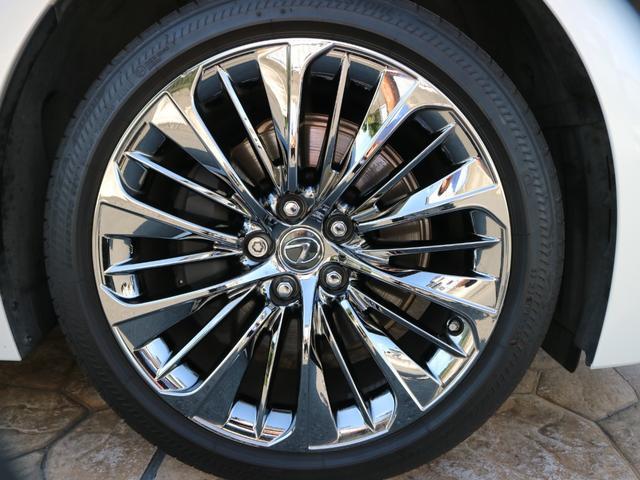 LS500h エグゼクティブ 4WD サンルーフ スパッタリング20インチAW マークレビンソン リアエンターテインメント ドライブレコーダー パワートランク パノラミックビューモニター HUD 三眼LEDヘッドライト AHS(28枚目)