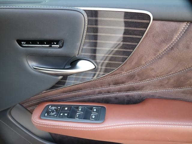 LS500h エグゼクティブ 4WD サンルーフ スパッタリング20インチAW マークレビンソン リアエンターテインメント ドライブレコーダー パワートランク パノラミックビューモニター HUD 三眼LEDヘッドライト AHS(38枚目)