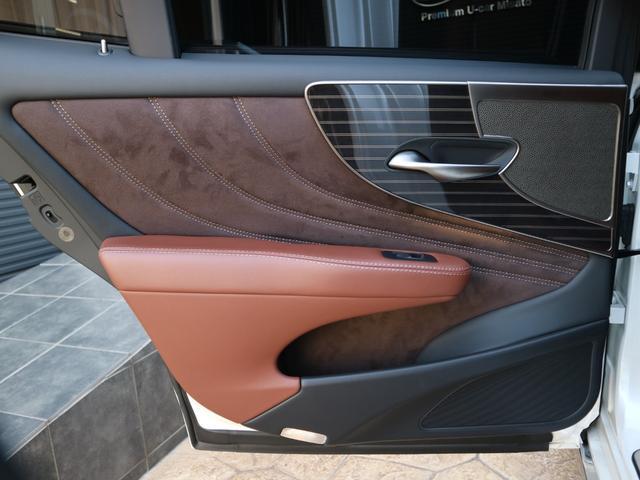 LS500h エグゼクティブ 4WD サンルーフ スパッタリング20インチAW マークレビンソン リアエンターテインメント ドライブレコーダー パワートランク パノラミックビューモニター HUD 三眼LEDヘッドライト AHS(55枚目)