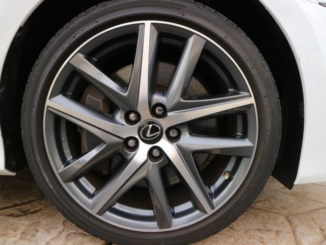 GS450h Fスポーツ 三眼LEDヘッドライト アダプティブハイビームシステム ドライブレコーダー パワートランク クリアランスソナー ブラインドスポットモニター スペアタイヤ 後席SRS(31枚目)