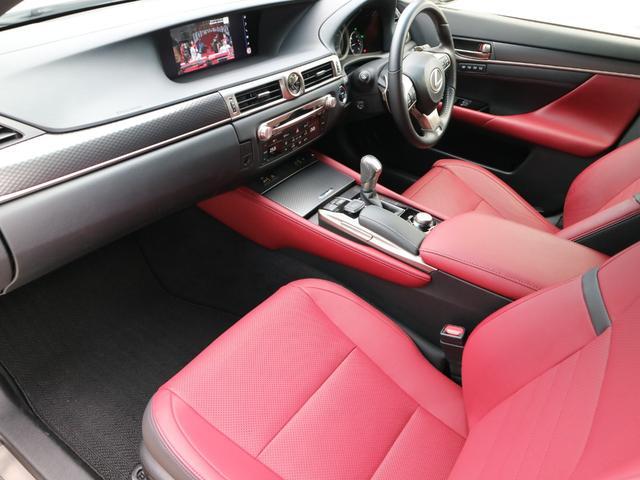 GS450h Fスポーツ 三眼LEDヘッドライト アダプティブハイビームシステム ドライブレコーダー パワートランク クリアランスソナー ブラインドスポットモニター スペアタイヤ 後席SRS(40枚目)