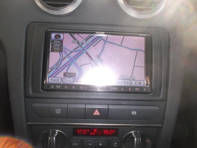 アウディ アウディ A3 スポーツバック1.4TFSI 社外SDナビ地デジ ETC