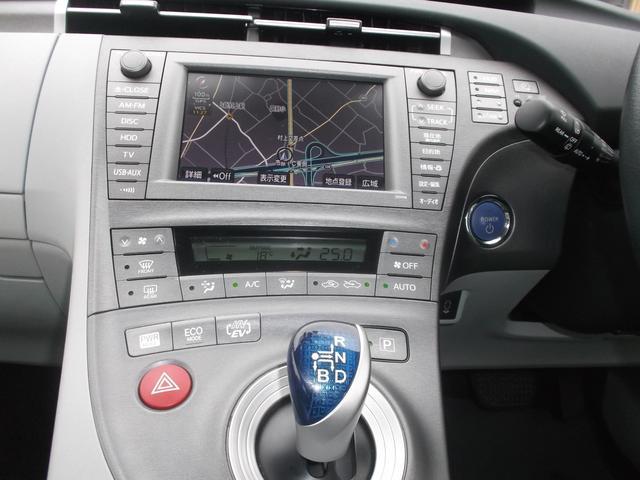 トヨタ プリウスPHV G 純正HDDナビ地デジフルセグ 電動シート LEDライト