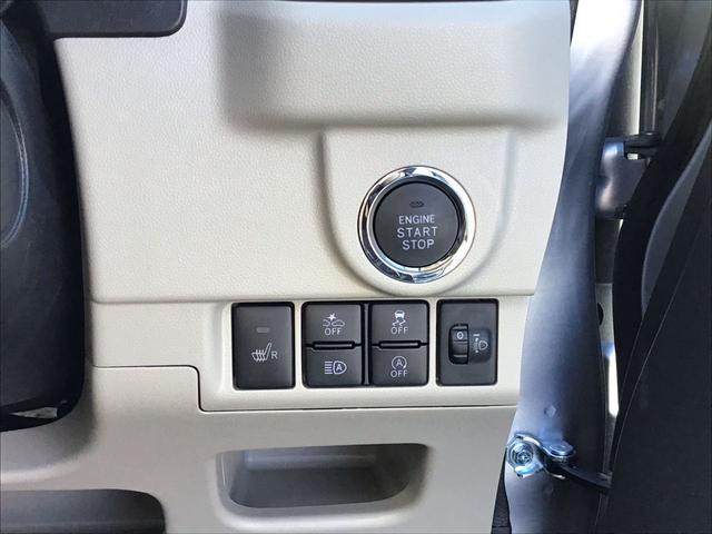 """【プッシュボタンスタート】 エンジン操作は、スイッチだけの""""プッシュボタンスタート""""を装備!もうバッグから鍵を取り出さなくてもいいんですよ♪"""