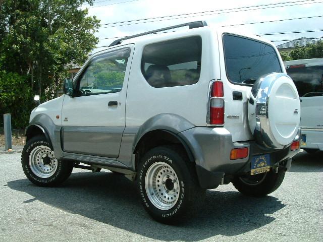 JZ-LTD 4WD オーバーフェンダー リフトUP AW(2枚目)