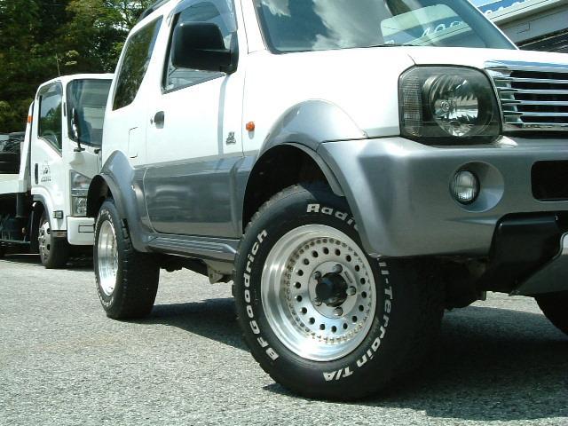 JZ-LTD 4WD オーバーフェンダー リフトUP AW(5枚目)
