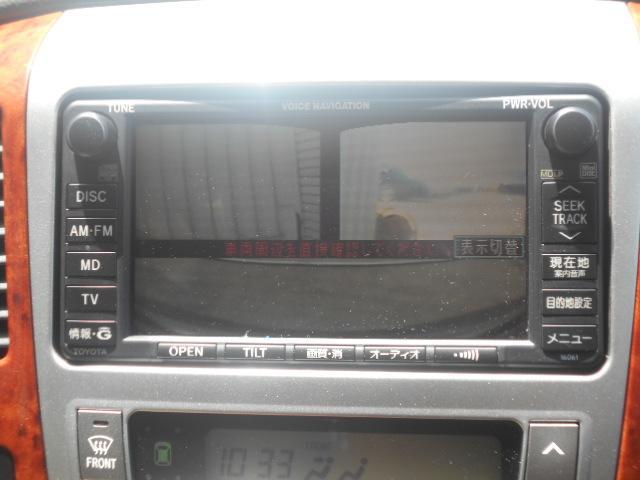 トヨタ アルファードG AXLエディションDVDナビTV前・後モニター自動ドア8人乗