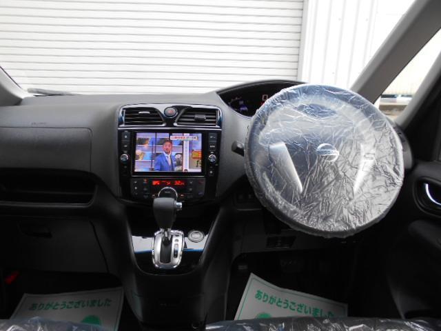 ハイウェイスター S-ハイブリッド /DVD再生ナビTV/天井モニタ-/両側自動ドア/1オーナー/新品タイヤ/ETC/Bluetooth/istop/AUTOライト/フォグ/エマブレ(22枚目)
