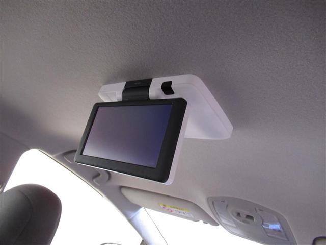 後席モニターは天井吊り下げ式のフリップダウンモニター!長時間のドライブでも同乗者を飽きさせません!