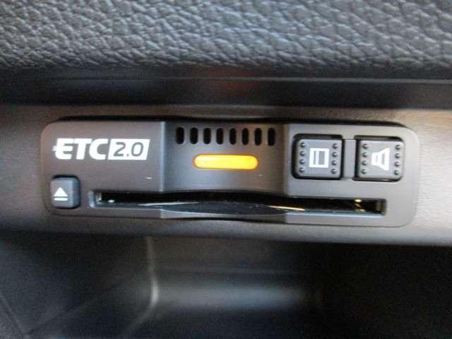 ETC2.0付!高速道路の料金所はキャッシュレスで通過です!サービスエリア等にあるスマートインターの出入りも利用可能でとっても便利☆ご納車後すぐにお使い頂けるようセットアップしてのお渡しとなります。