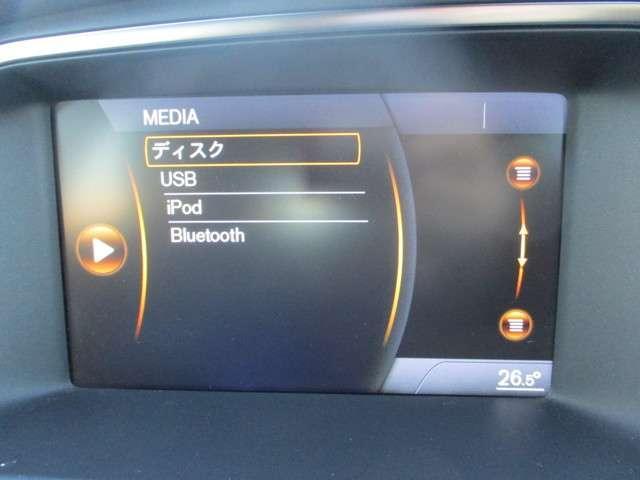 純正オーディオです。DVD/CD再生、USB、Bluetooth連携機能が装備されとっても便利です!