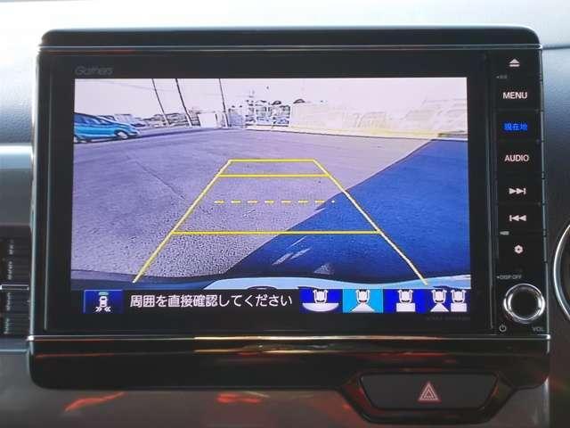Lホンダセンシング 2年保証付 デモカー 衝突被害軽減ブレーキ サイド&カーテンエアバッグ ドライブレコーダー メモリーナビ フルセグTV Bカメラ シートヒーター LEDヘッドライト オートライト ワンオーナー車(6枚目)