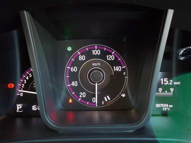 Lホンダセンシング 2年保証付 デモカー 衝突被害軽減ブレーキ サイド&カーテンエアバッグ ドライブレコーダー メモリーナビ フルセグTV Bカメラ シートヒーター LEDヘッドライト オートライト ワンオーナー車(8枚目)