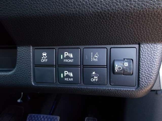 Lホンダセンシング 2年保証付 デモカー 衝突被害軽減ブレーキ サイド&カーテンエアバッグ ドライブレコーダー メモリーナビ フルセグTV Bカメラ シートヒーター LEDヘッドライト オートライト ワンオーナー車(10枚目)