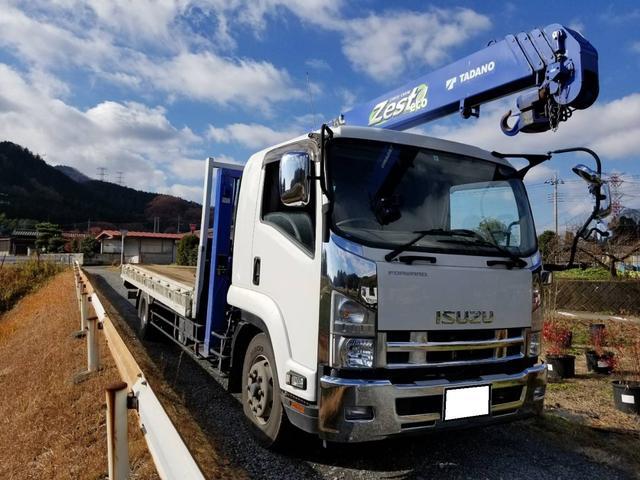 タダノ2.9t吊りクレーン平ボデー増トン車(2枚目)
