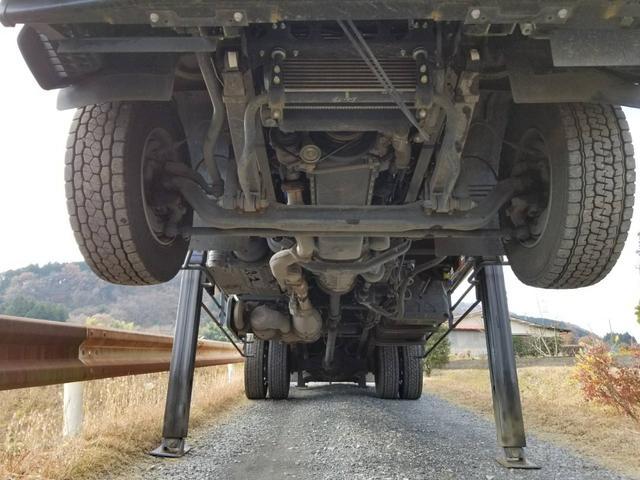 タダノ2.9t吊りクレーン平ボデー増トン車(6枚目)