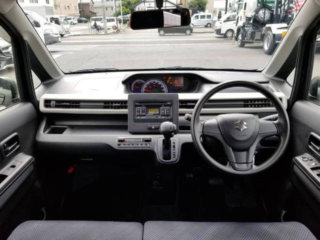 ハイブリッドFX 前席シートヒーター オートエアコン Sエネチャージ ベンチシート 衝突安全ボディ 盗難警報装置 エアバック パワステ ABS キ-レス フルフラット(5枚目)
