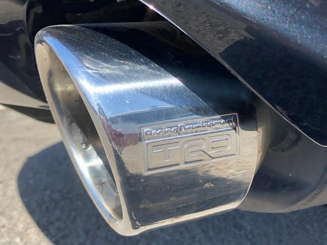350G パワーシート(運・助) スマートキー 電動ミラー バックカメラ TRDマフラー 純正アルミホイール ETC 純正HDDナビ(TV DVD CD AM FM) エアバック(運・助・カーテン) キーレス(36枚目)